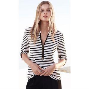 Calvin Klein Tops - ⚜️ New! Calvin Klein Black & White Striped Top ⚜️